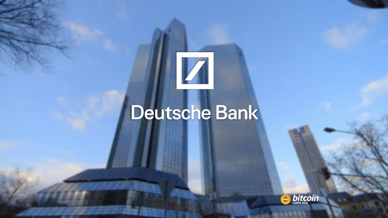 Deutsche Bank vive graves circunstancias financieras