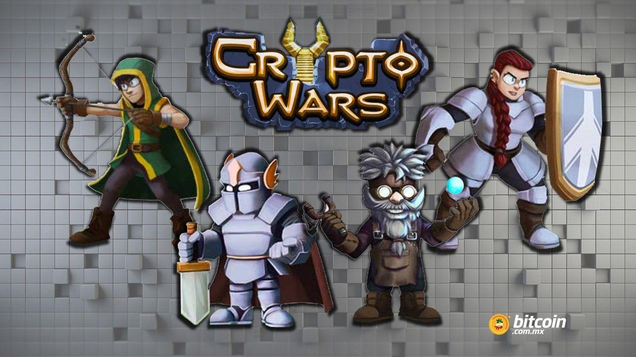 CryptoWars: la fórmula para divertirse y ganar criptomonedas
