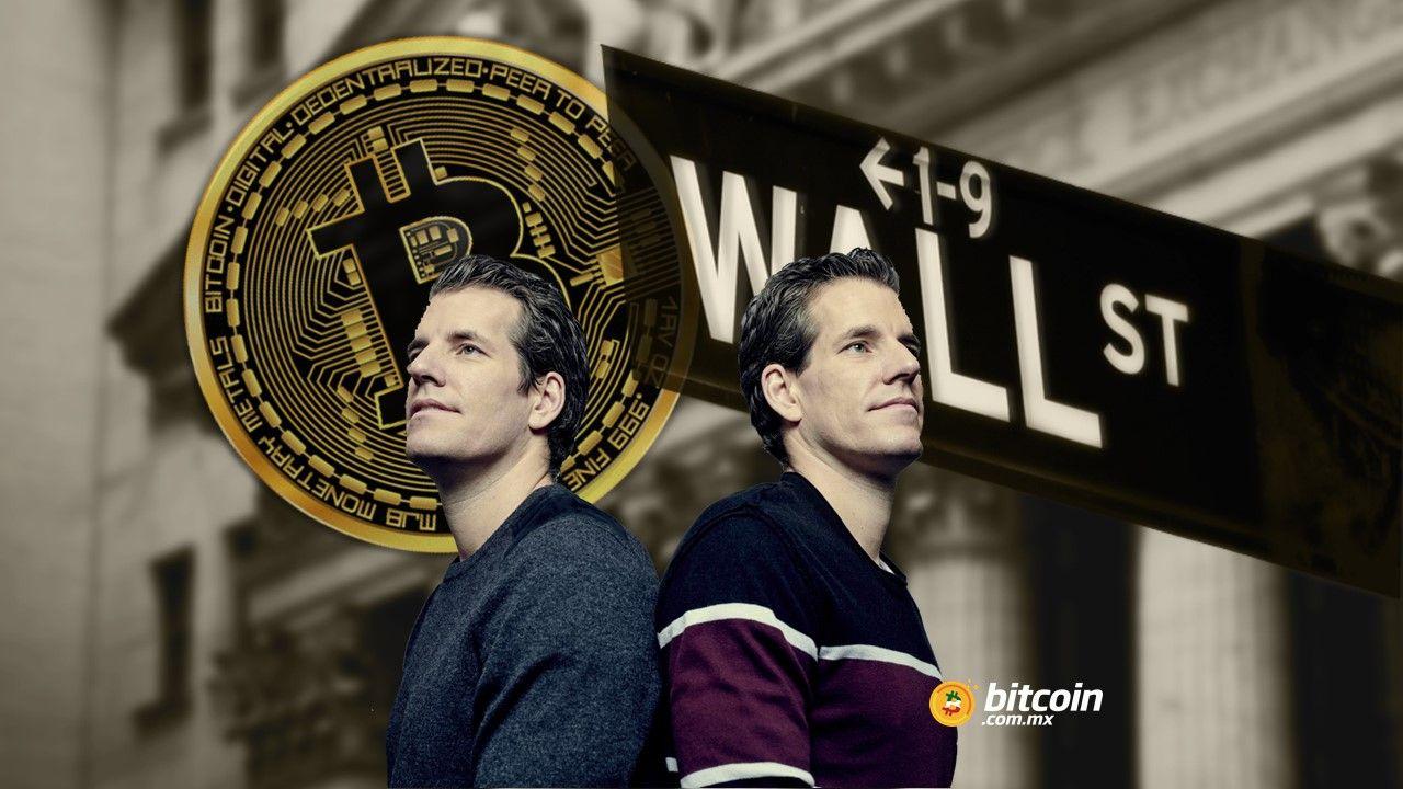 """Wall Street se ha dormido respecto al Bitcoin"": gemelos Winklevoss"