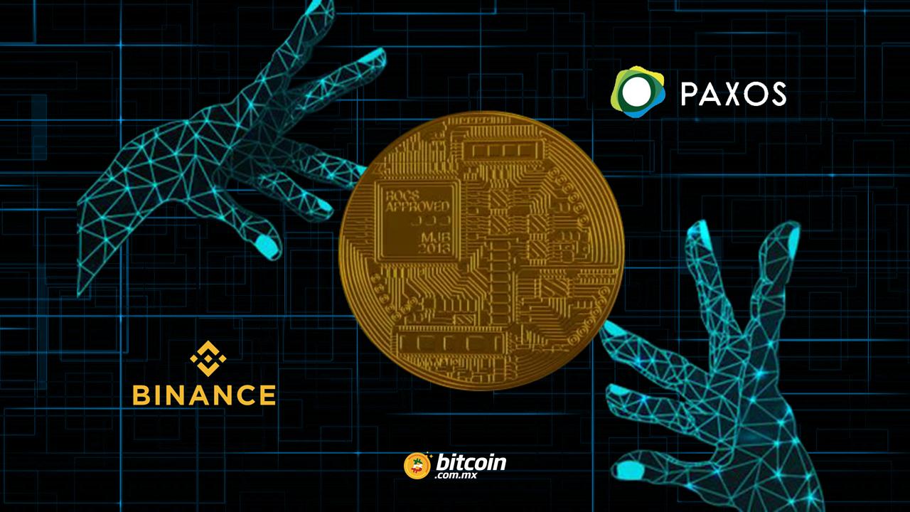 Binance lanza stablecoin con apoyo de Paxos