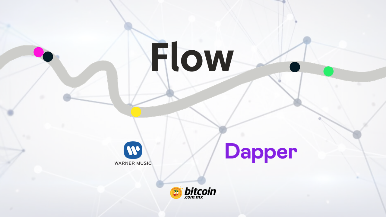 Warner Music invierte en Flow la nueva red blockchain de Dapper Labs