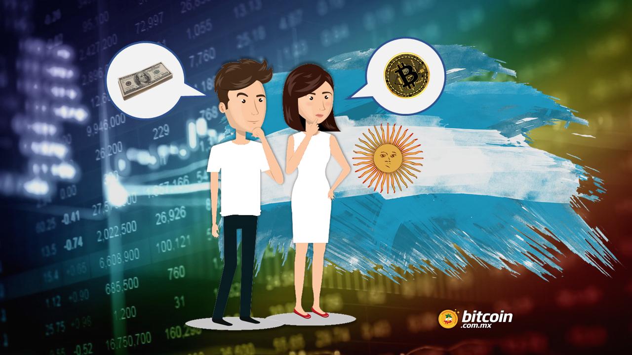 Bitcoin: 30% más atractivo para argentinos que el dólar