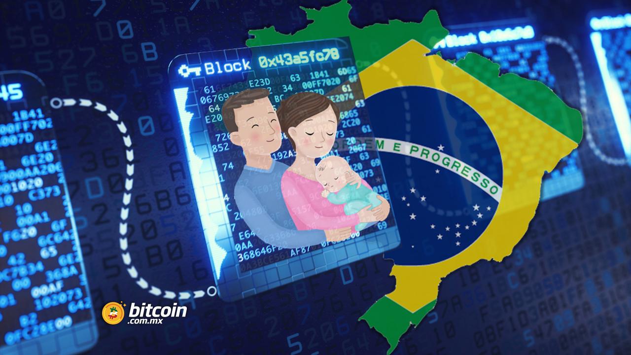 Brasil: registran al primer bebé a través de blockchain