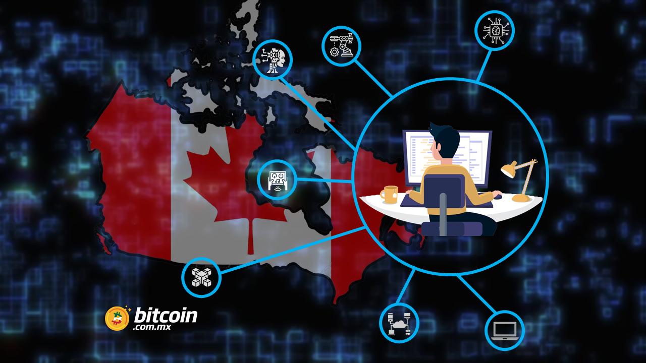 Blockchain es de las industrias mejor pagadas en Canadá: reporte
