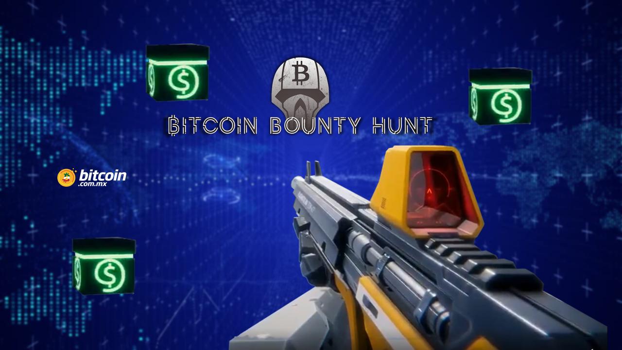 Donnerlab permite coleccionar Bitcoins en el juego Bitcoin Bounty Hunt