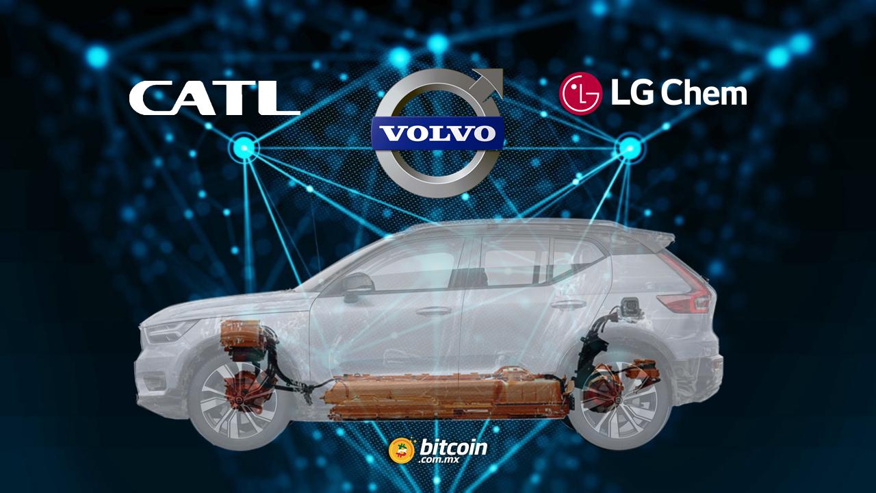 Volvo suma a CATL y LG Chem en su proyecto de rastreo de cobalto
