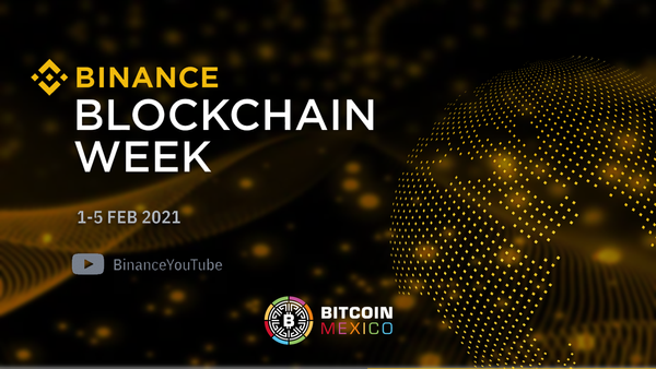 Binance Blockchain Week 2021 llegará en febrero