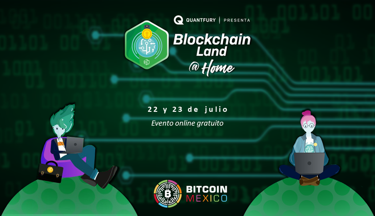 Blockchain Land @ Home
